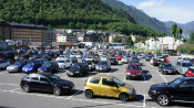 aparcament del Parc Central Parking Andorra la Vella